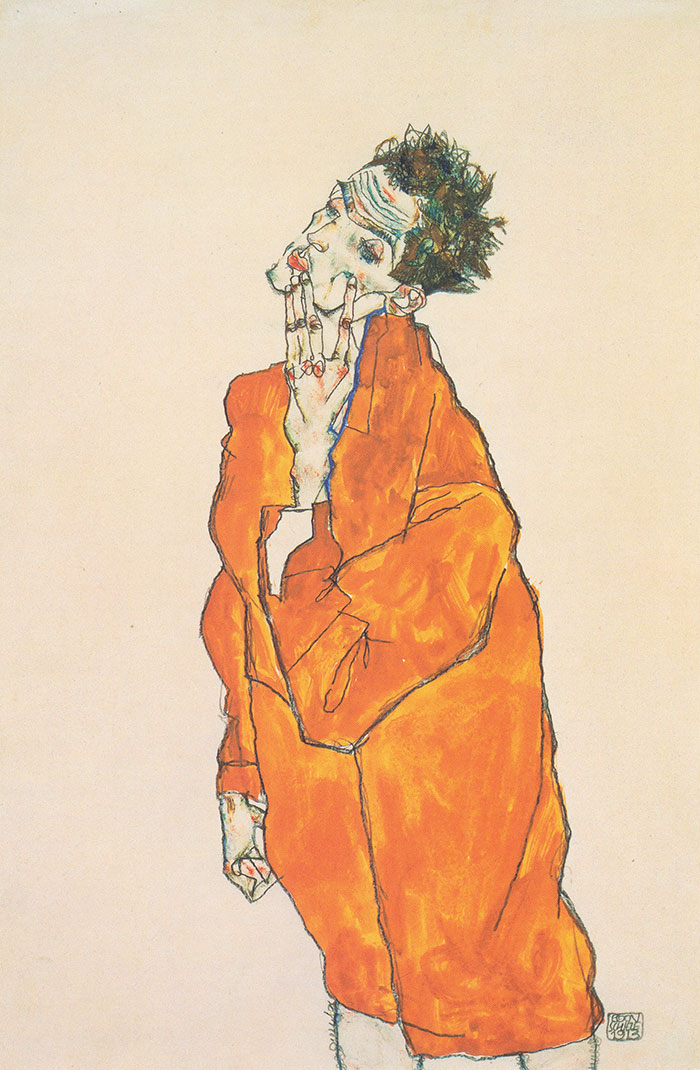 """""""If it looks like the artistic equivalent of a nicotine addiction, it's an Egon Schiele"""""""