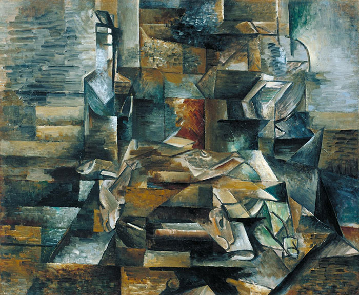"""""""If it looks like a really stressful game of Tetris, it's a George Braque"""""""