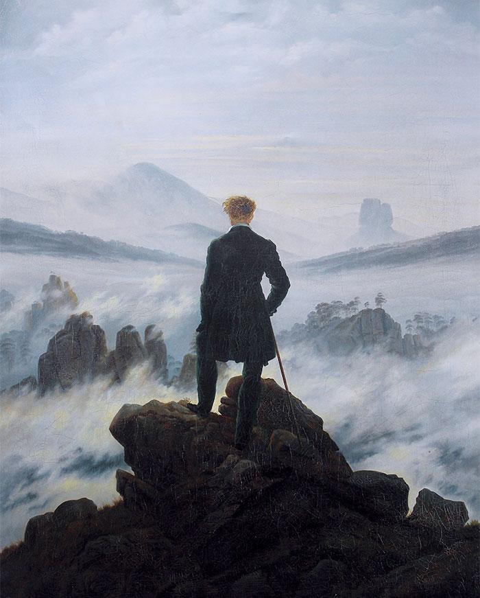 """If it looks like angsty male ego, then it's German Romanticism"""