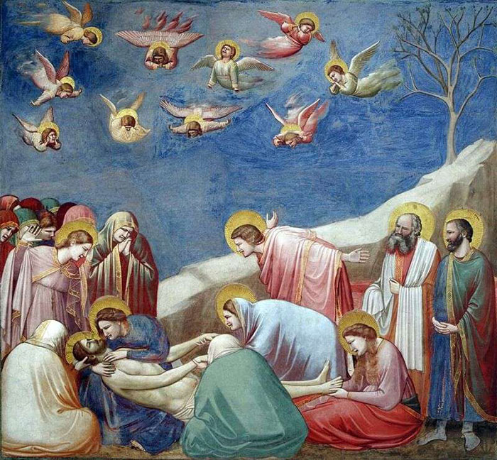 """""""If it looks like a school nativity play where everyone's made a toga out of different colored bedsheets, it's a Giotto"""""""