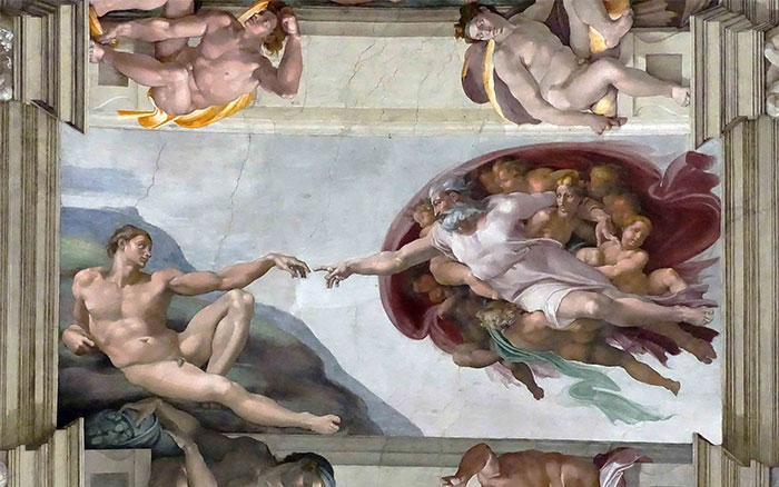 """""""If it's homoerotic and painted on a wall or a ceiling, then it's High Renaissance"""""""