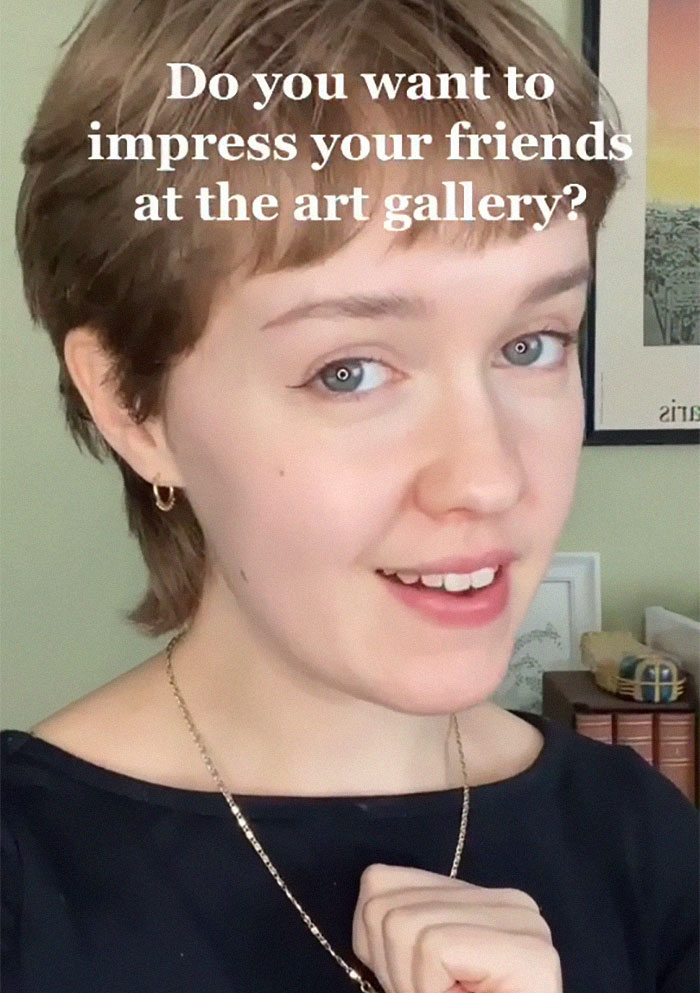 Do you want to impress your friends at the art gallery? - Mary McGillivray