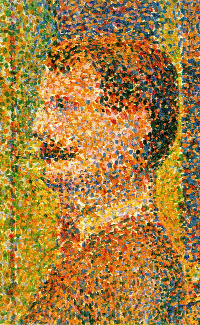 """""""If it looks like a low-res JPEG blown up, its Pointillism"""""""