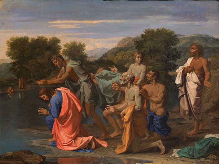 """""""If it's got nice trees but boring figures, it's a Poussin"""""""