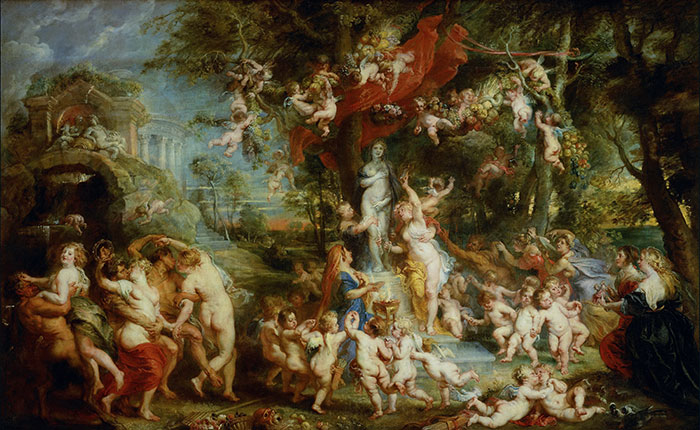 """If it's got more flesh than a nudist beach, it's a Rubens"""