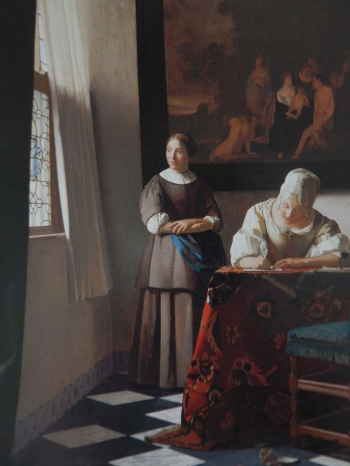 """""""If there's a room with some nice furniture, a window, and some women just going about their everyday business, it's a Vermeer"""""""