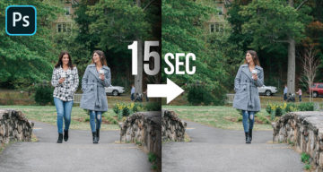 Learn In 15 Seconds How To Remove Any Object From Your Image In Photoshop