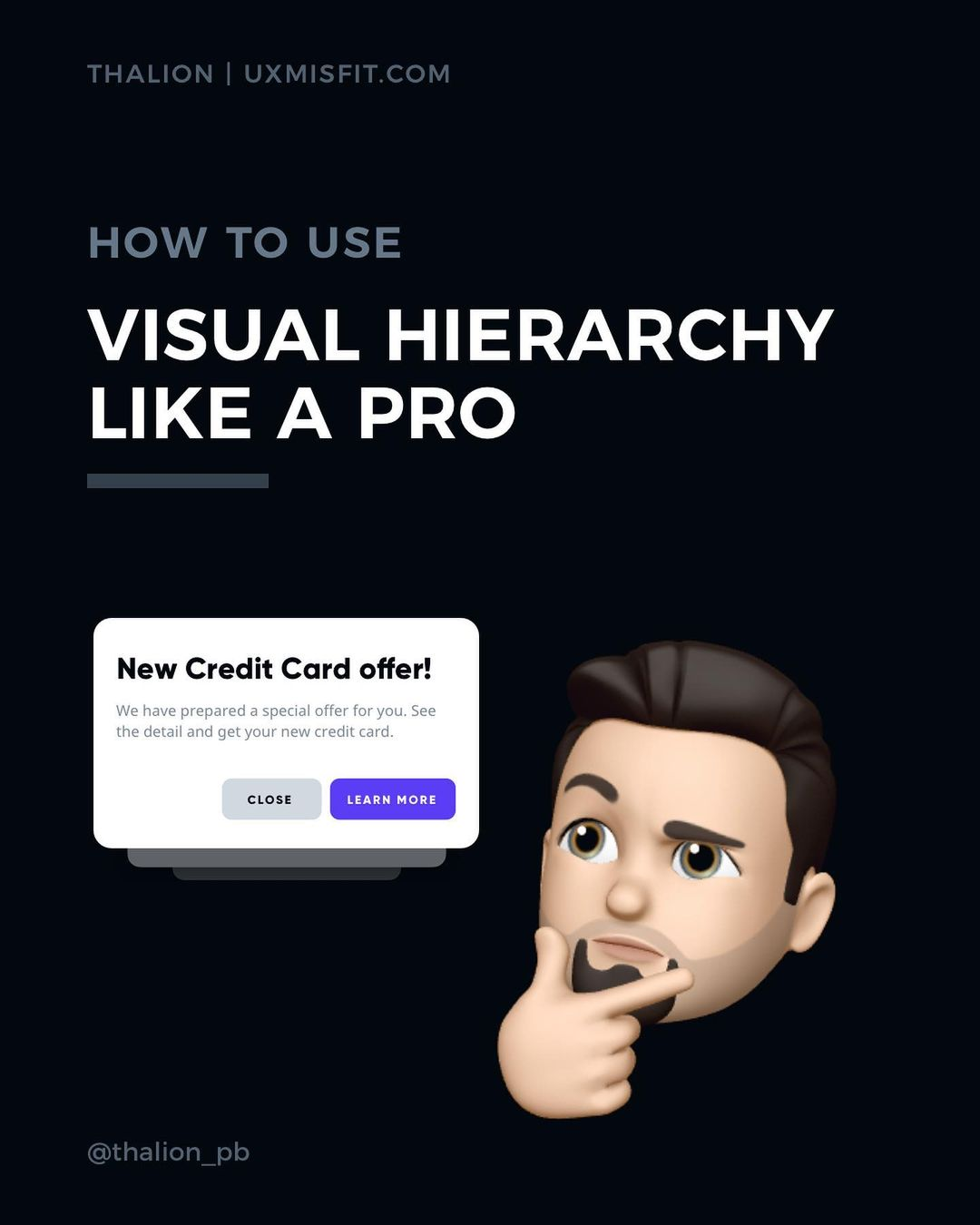 How to use Visual Hierarchy like a pro