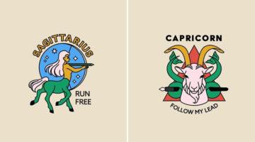 creative-logos-for-zodiac-signs