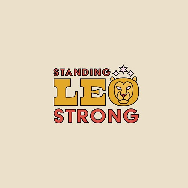 Creative logo for zodiac signs - Leo
