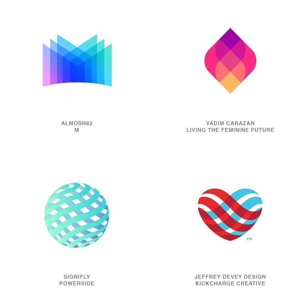 Logo Design Trends 2021 - Trans Flip