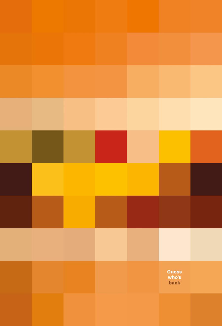 McDonald's Pixels - Cheeseburger