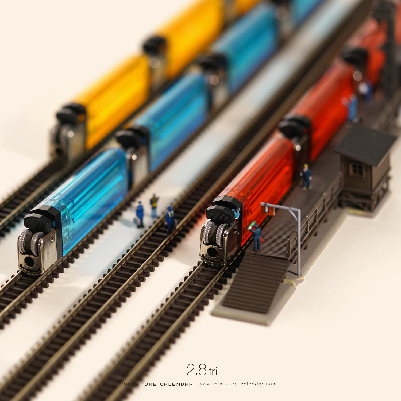 Miniature Diaromas - 23