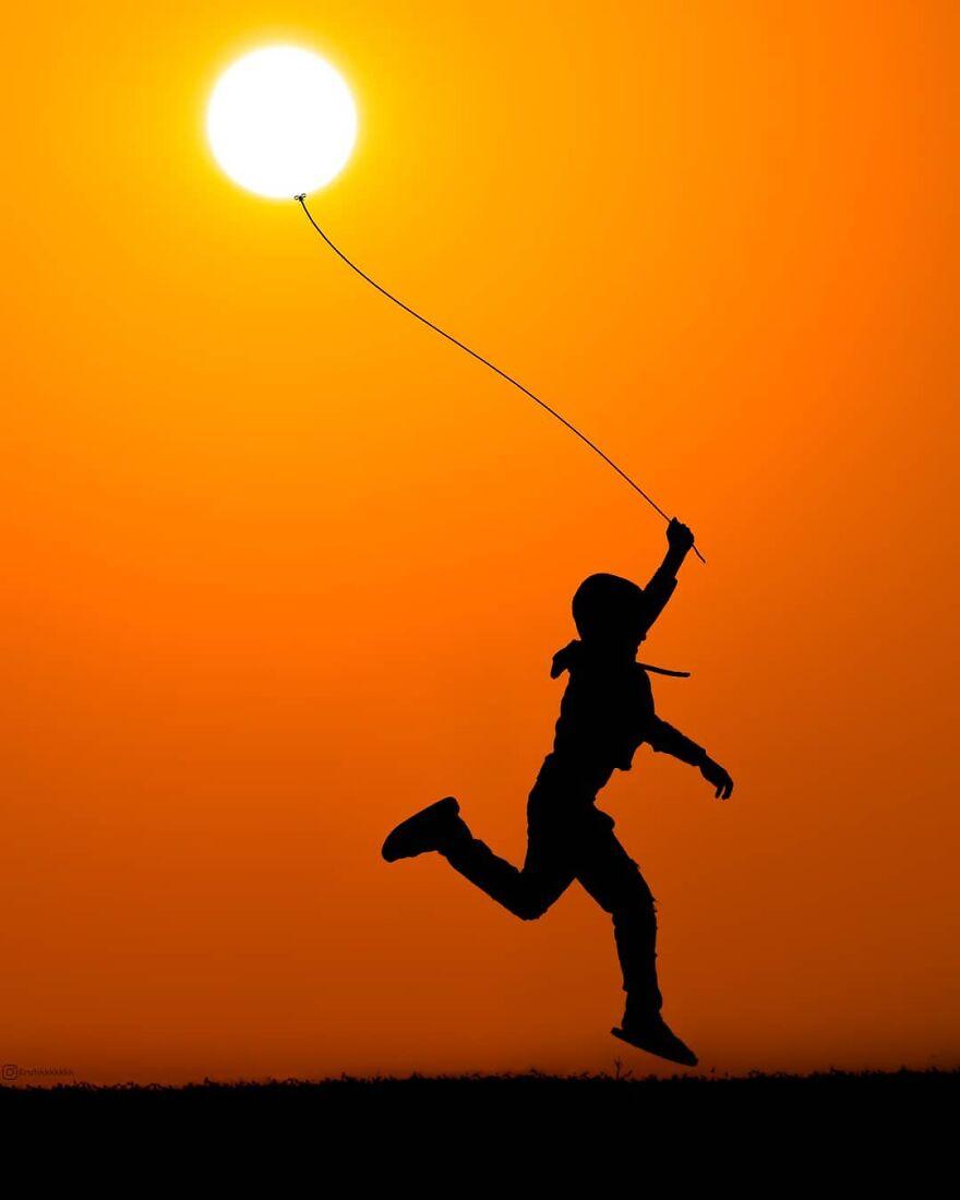 Creative Sunset Silhouette Photos - 12