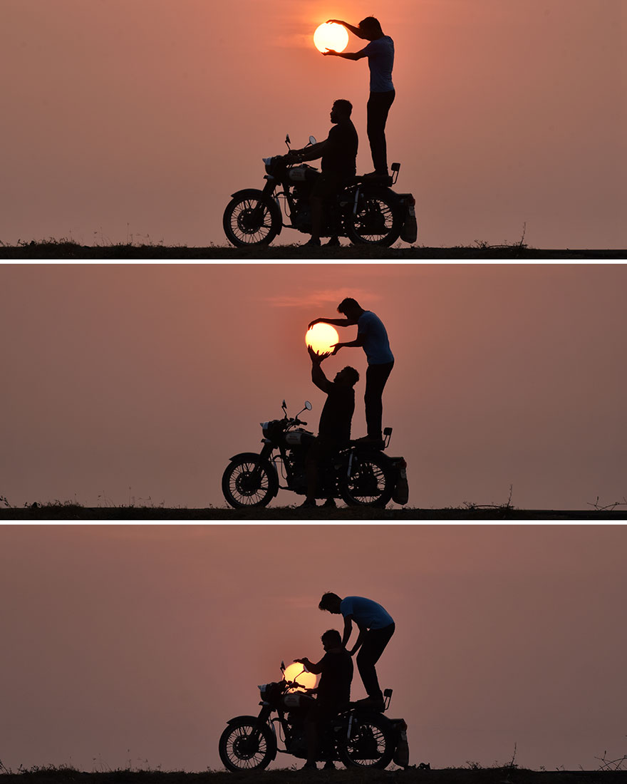Creative Sunset Silhouette Photos - 13