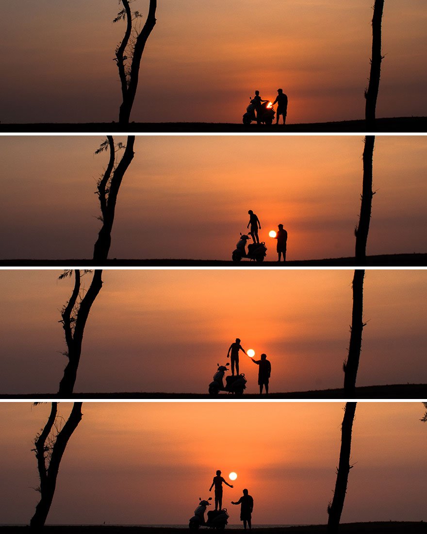 Creative Sunset Silhouette Photos - 15