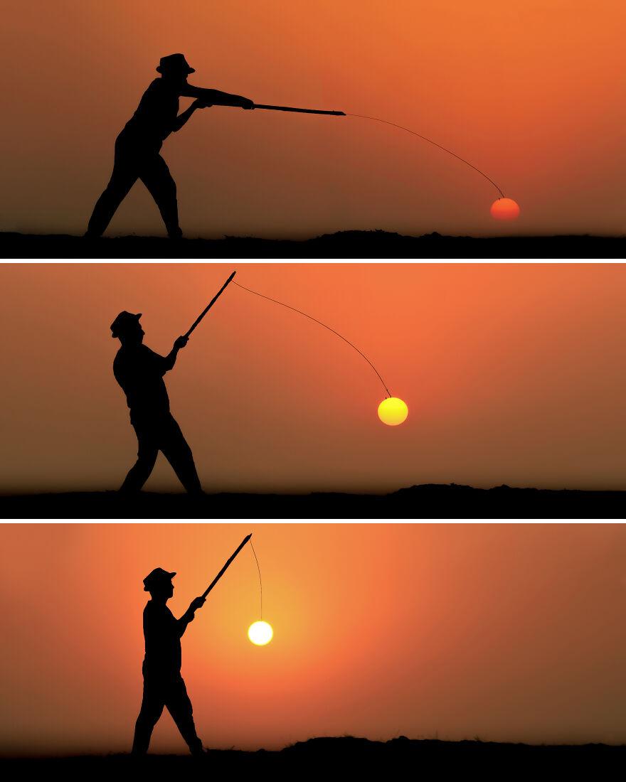 Creative Sunset Silhouette Photos - 16