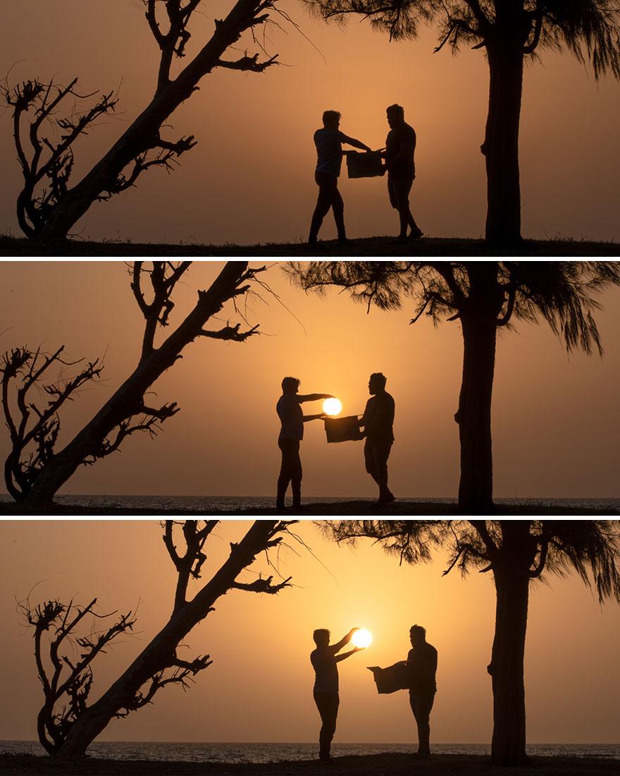 Creative Sunset Silhouette Photos - 20