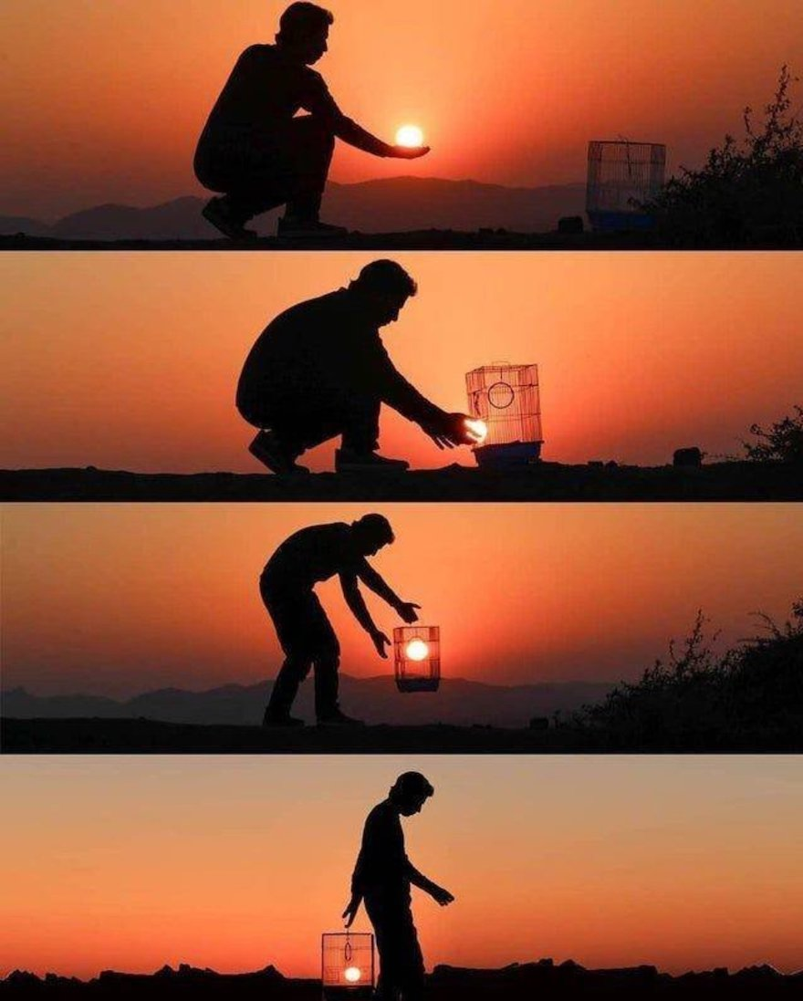 Creative Sunset Silhouette Photos - 21