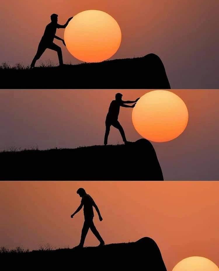 Creative Sunset Silhouette Photos - 22