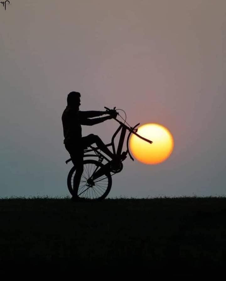 Creative Sunset Silhouette Photos - 23