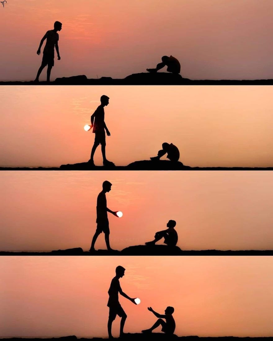 Creative Sunset Silhouette Photos - 25