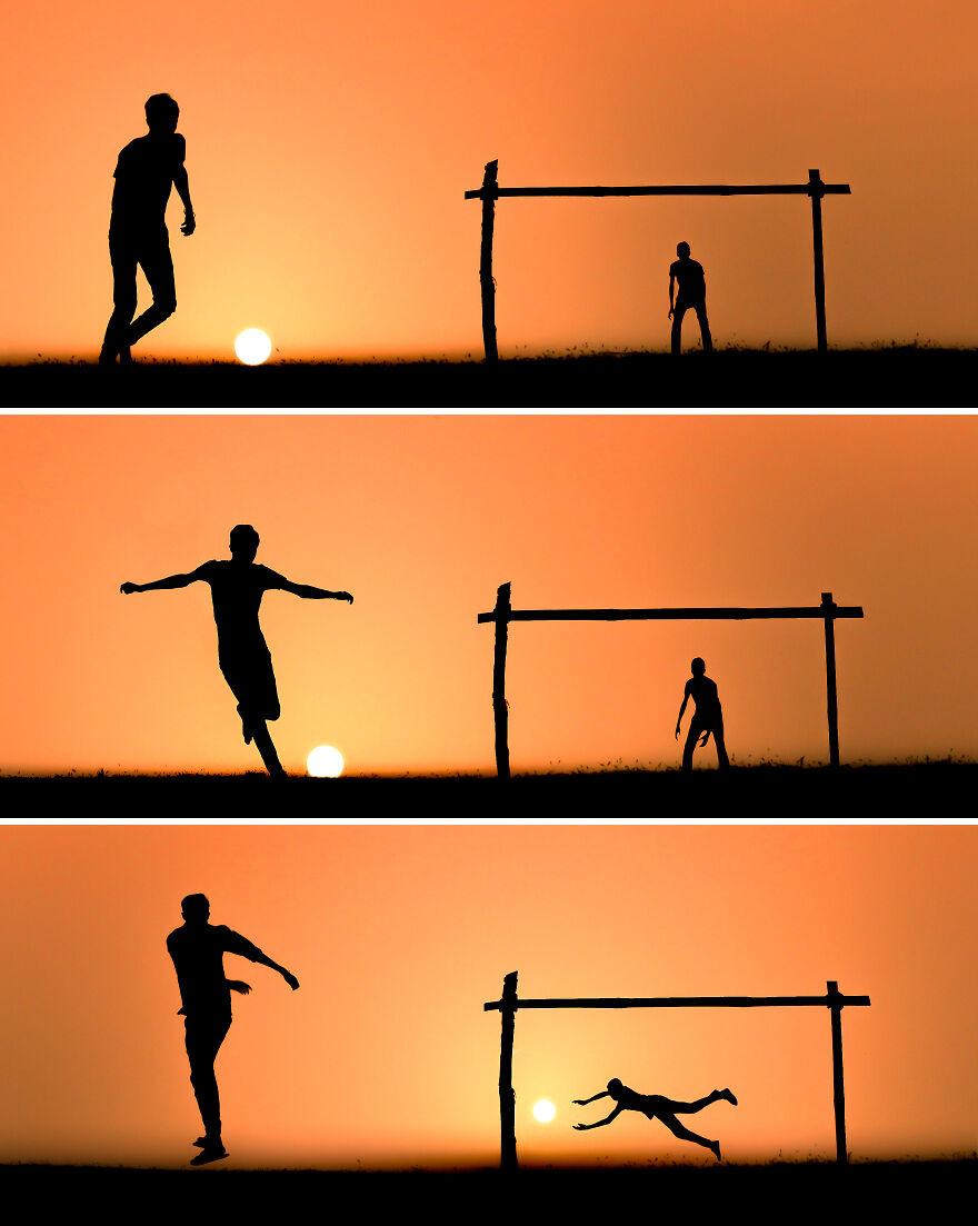 Creative Sunset Silhouette Photos - 4