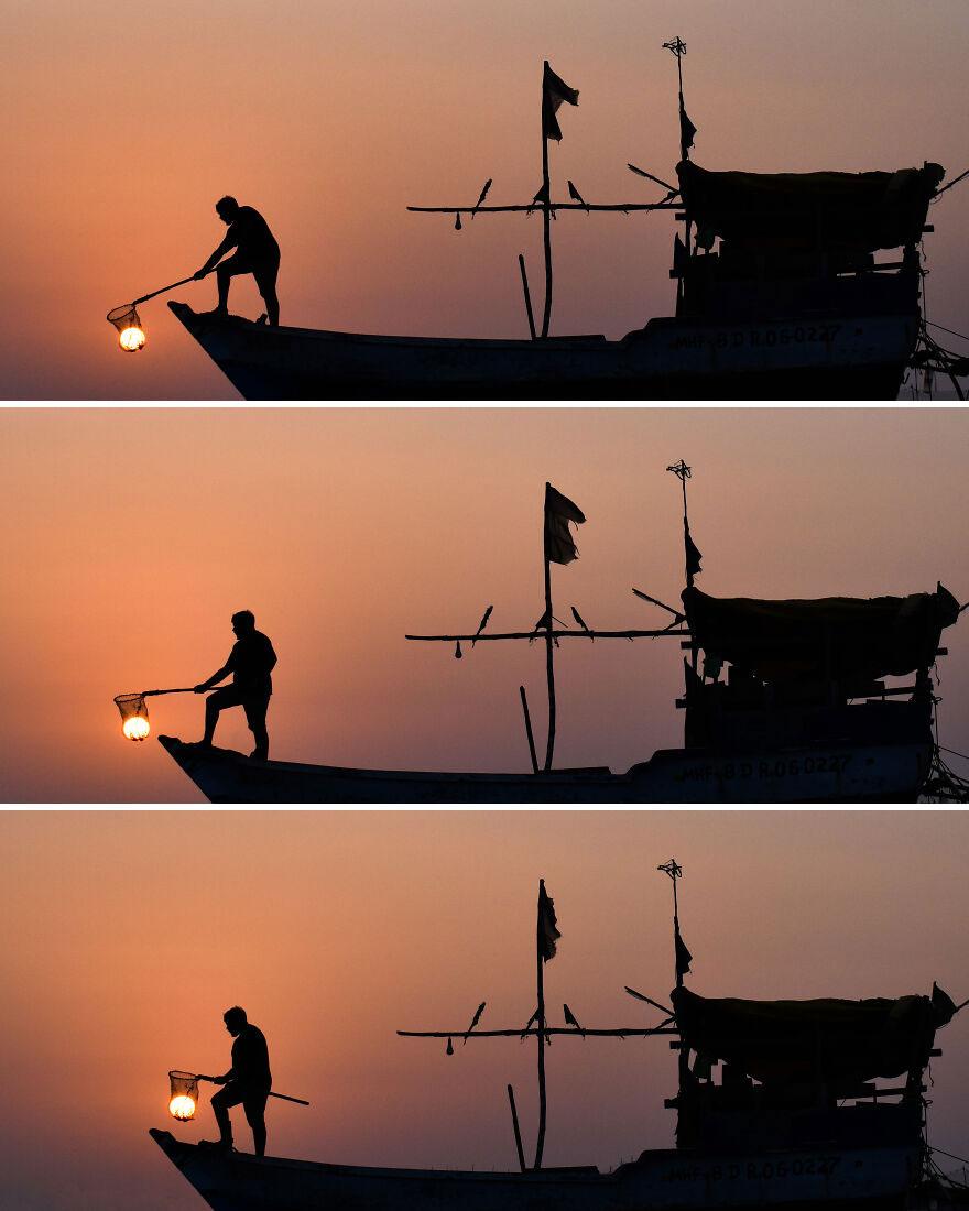 Creative Sunset Silhouette Photos - 5