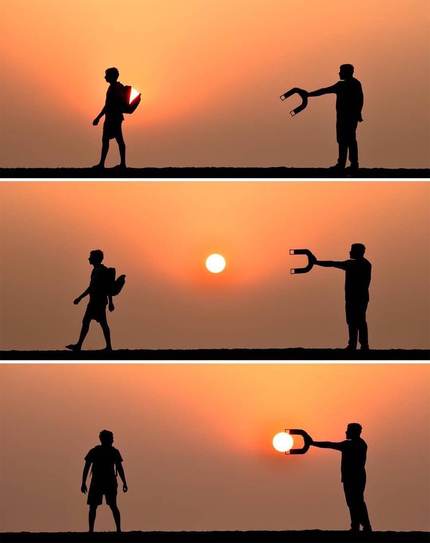 Creative Sunset Silhouette Photos - 7