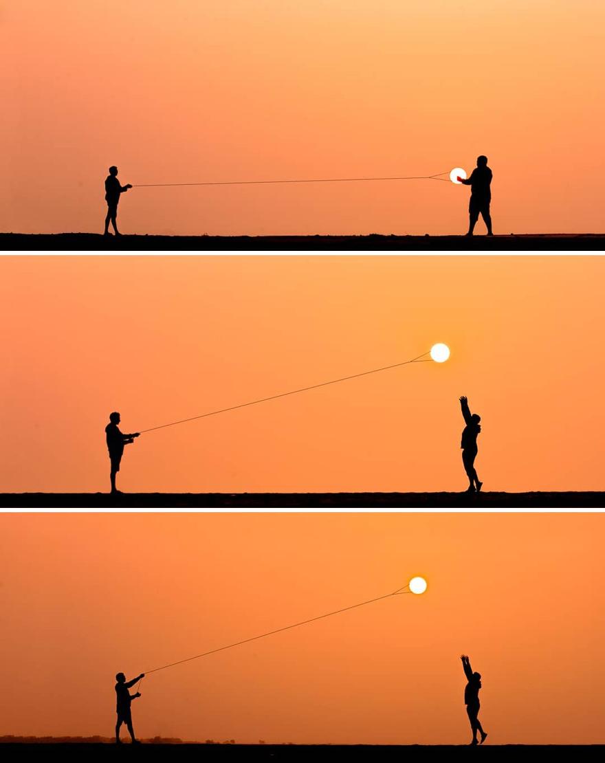 Creative Sunset Silhouette Photos - 9
