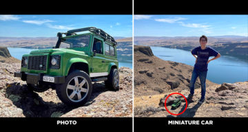 13-Year-Old Autistic Boy Makes Miniature Cars Look Life-Size With His Amazing Photography