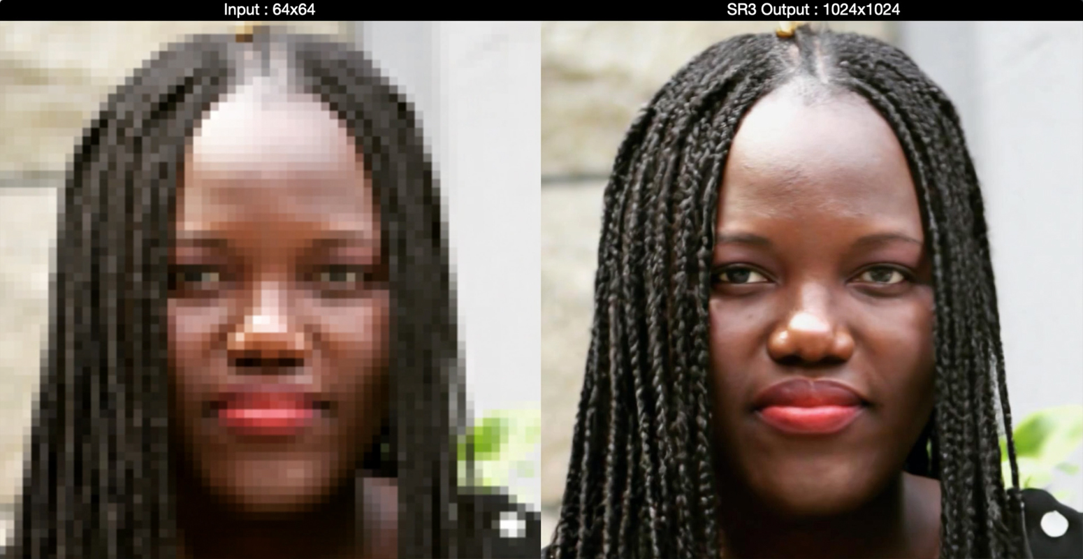 Google AI Turns Low-Res Images To High-Res - Super Resolution SR3 Model (3)