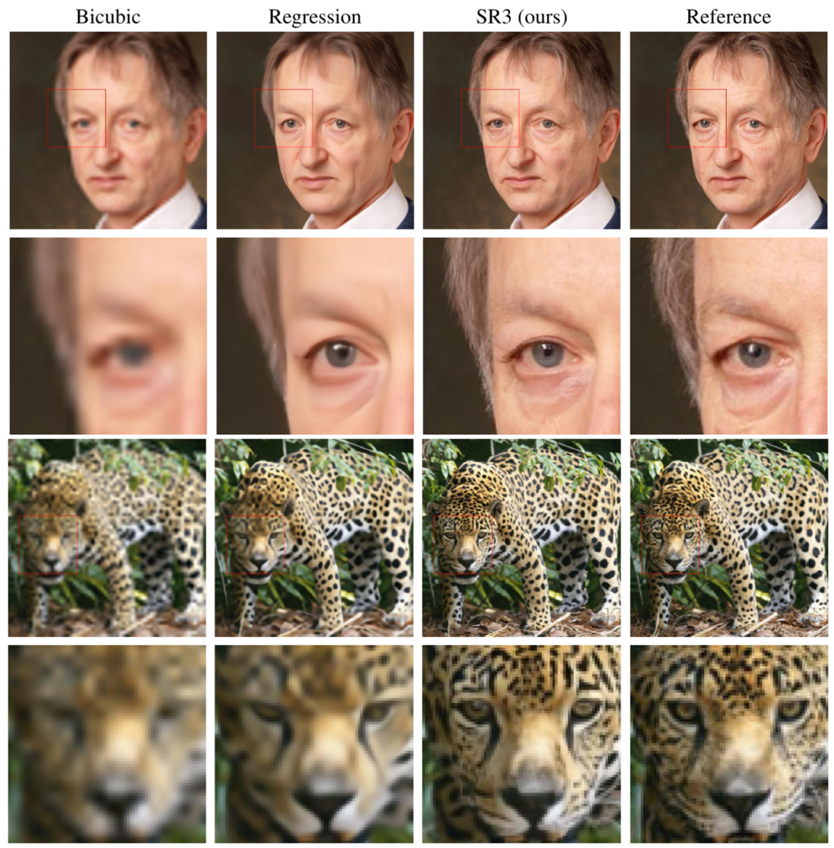 Google AI Turns Low-Res Images To High-Res - Super Resolution SR3 Model (5)